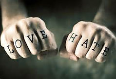 Love And Hate Fists