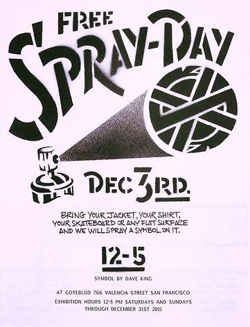 free spray day crass