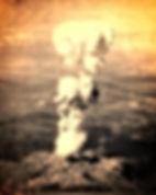 hiroshima mushroom cloud atomic bomb
