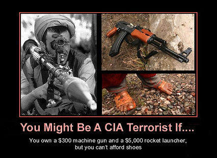 you might be a cia terrorist if