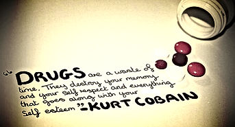 drugs kurt cobain