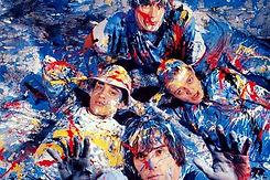 paint splatter the stone roses
