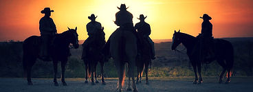 texas sunset cowboys