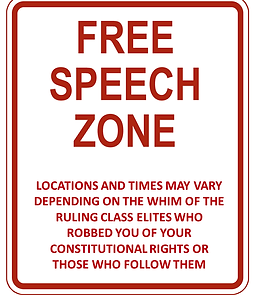 free speech zone constitutional rights