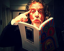 Robert Plant perusing JBS Book