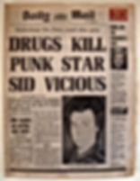 daily mail drugs kill punk star sid vicious death charge sex pistol found dead after party