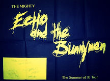 THE MIGHTY ECHO AND THE BUNNYMEN JBS DUDLEY 1980