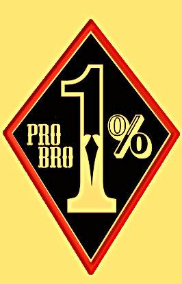 1% pro bro Biker