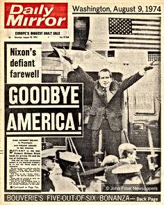 news nixon goodbye