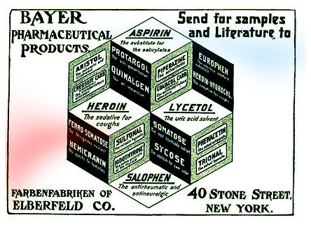 bayer heroin send for free samples