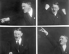 adolf hitler on the rampage