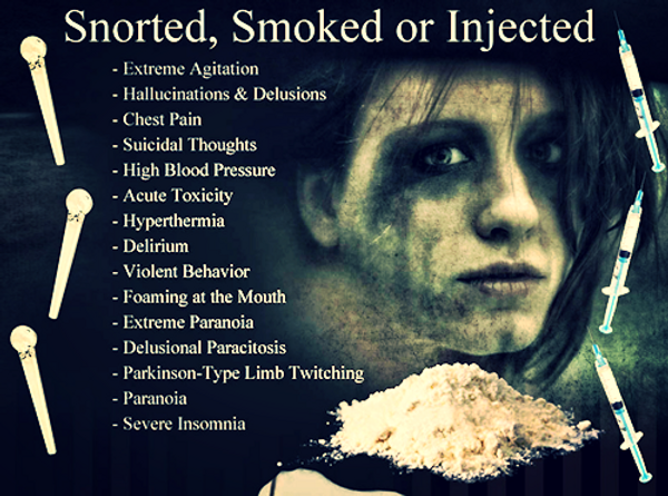 real life snorted smoked injected