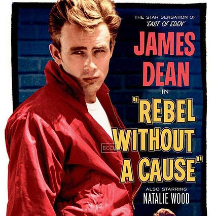 James Dean Rebel Poster