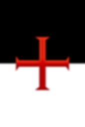 One of the many reported flags of the Knights Templar.