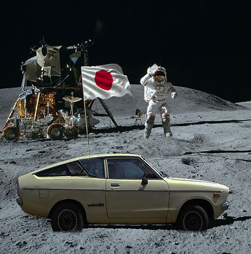 moon landing datsun