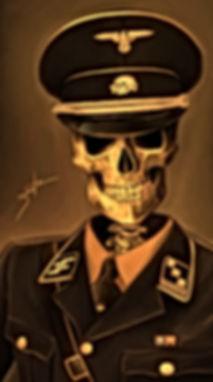 SKULL WAFFEN SS TOTENKOPF