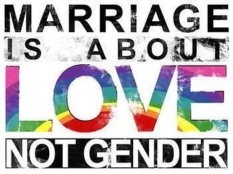 lgbt marriage is about love not gender