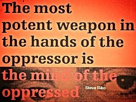 the mind of the oppressed steve biko