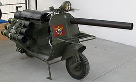 military vespa scooter