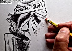 wipe out radical islam cartoon
