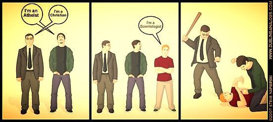 Everyone hates Scientologists!