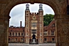 famous eton college facade