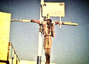 iran christian crucified by islam