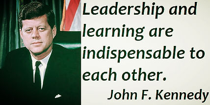 leadership and learning jfk