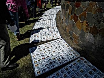 Jonestown Memorial Service Pictures