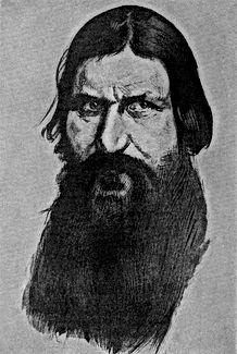 Drawing Of Rasputin