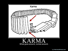 karma gets you in the end