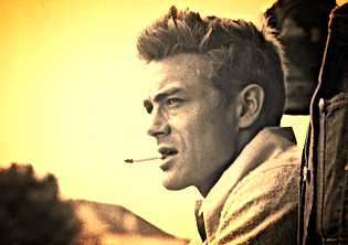 James Dean With Cigarette