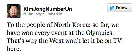 kim jong un north korea olympics