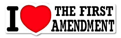 i love the first amendment use it or lose it