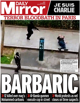 Daily Mirror Barbaric
