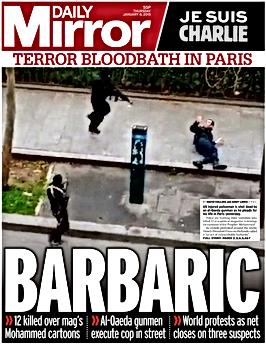 Daily Mirror Barbaric