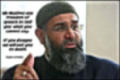 is this the most hated man in the uk Anjem Choudary