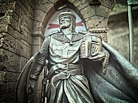 Knights Templar Legends Statue