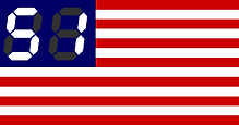 England 51st state of america flag