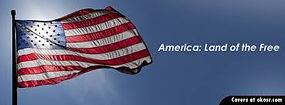 flag america land of the free banner