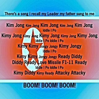 jong un love missile f1 11 boom boom boom
