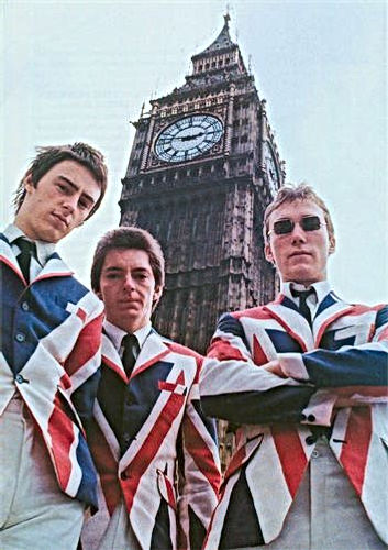 the Jam houses of parliament union jack