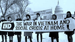 anti vietnam end war protesters