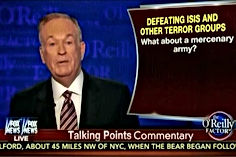 bill o'reilly defeating isis talking points