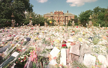Diana's Kensington Palace Flowers