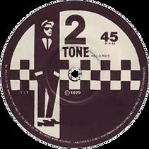 rude boy 2 tone 45rpm record