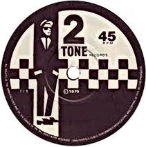 rude boy 2 tone 45rpm record