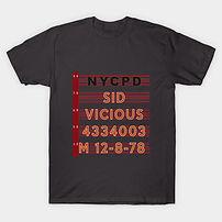 Sid Vicious 12-8-78 T-Shirt