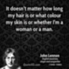 john lennon it doesnt matter how long my hair is