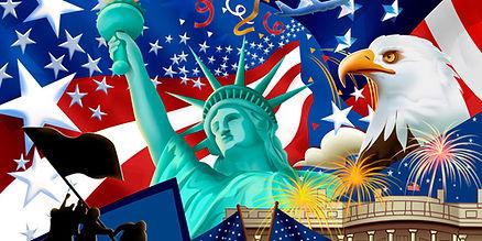 usa liberty flag eagle celebrate